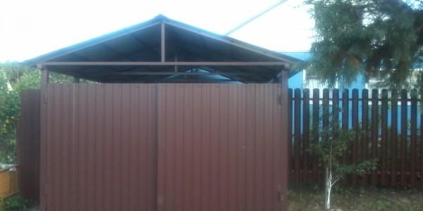 Забор из металлоштакетника - 69