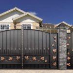 Садовые ворота с калиткой - 3