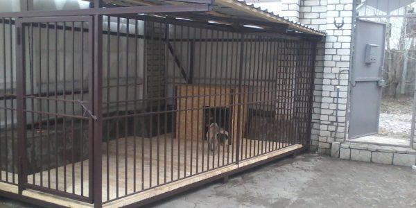 Вольер для большой собаки - 5