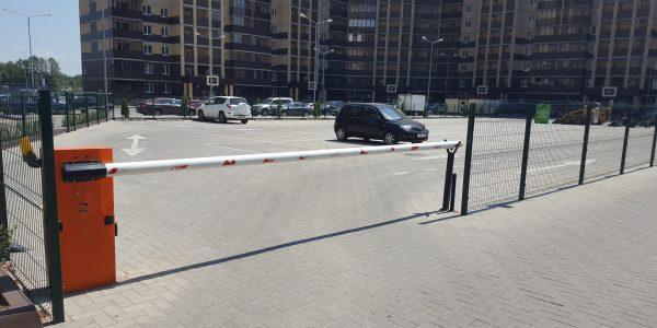Ограждение парковочной площадки