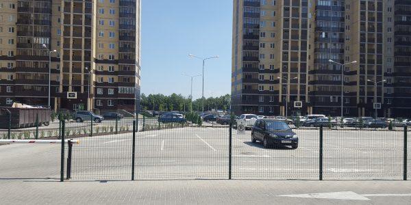 Ограждение парковочной площадки - 2