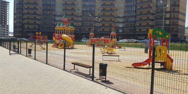 Ограждение детской площадки - 34