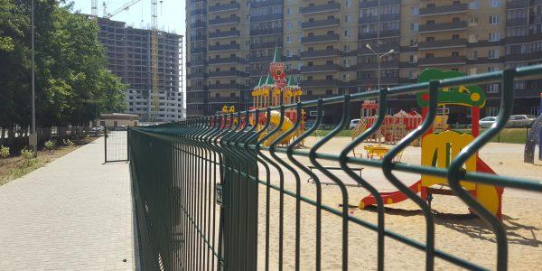 Ограждение детской площадки - 18