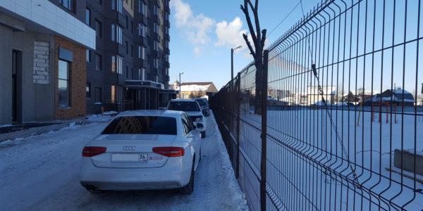 Ограждение парковки - 2