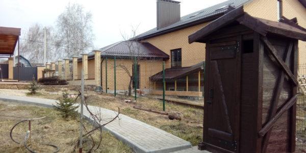 Забор из профлиста в Медовке - 2