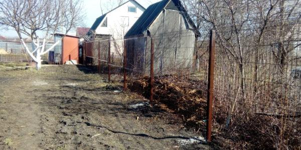 Забор из профлиста в Медовке - 3
