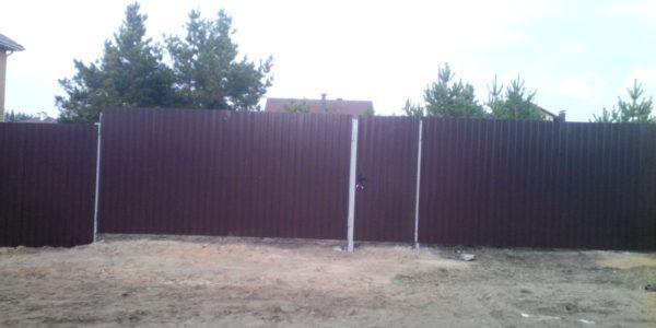 Ворота из профлиста - 11