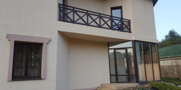 Ограждение для балкона коттеджа - 4