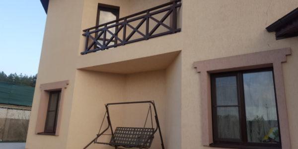 Ограждение для балкона коттеджа - 5