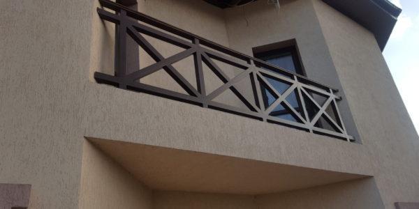 Ограждение для балкона коттеджа - 7