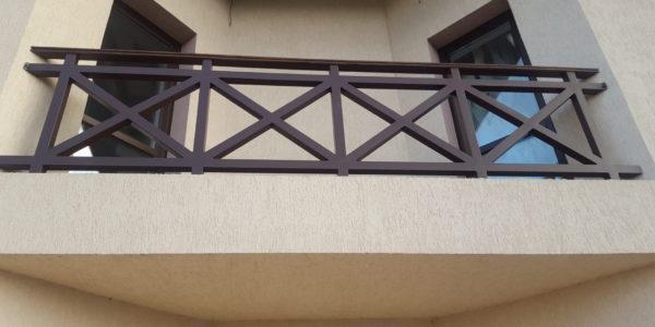 Ограждение для балкона коттеджа - 8