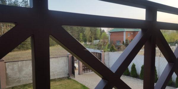 Ограждение для балкона коттеджа - 9