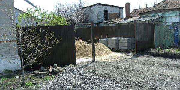 Забор из профнастила в Воронеже - 5