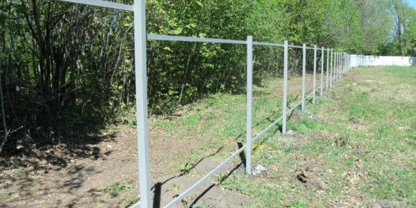 Забор из рабицы секционный - 3