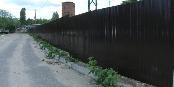 Забор из профнастила - 35