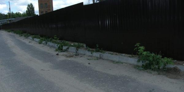 Забор из профнастила - 37