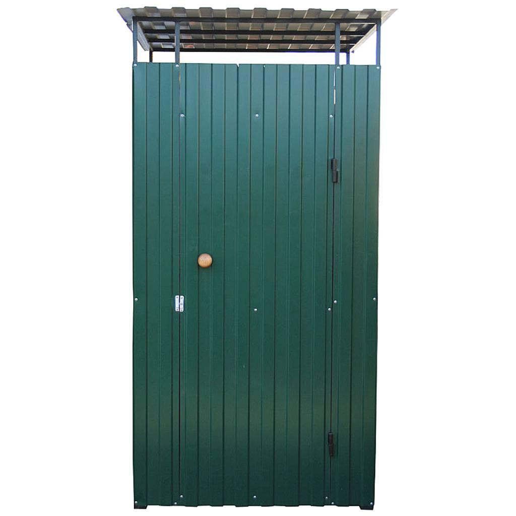 Дачный туалет из металла - 6