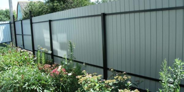 Забор с внутренней стороны - 68