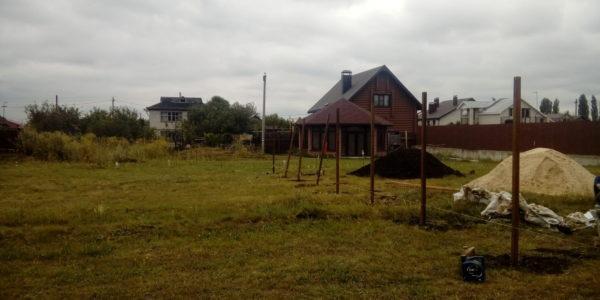 Забор из профнастила в селе Парусное - 8