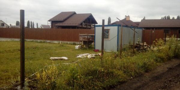 Забор из профнастила в селе Парусное - 9