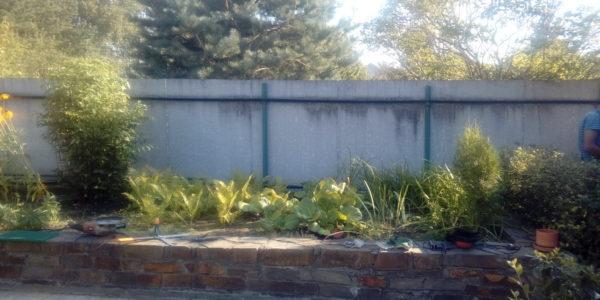 Забор на участке - 13
