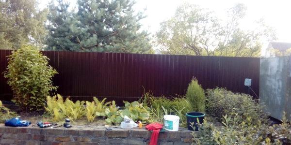 Забор из профнастила - 36