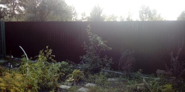 Забор из профнастила - 38