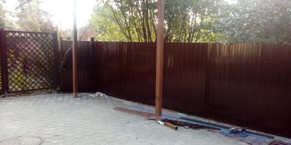 Откатные ворота - 2