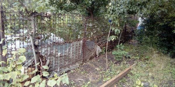 Забор из профнастила в селе Чертовицы