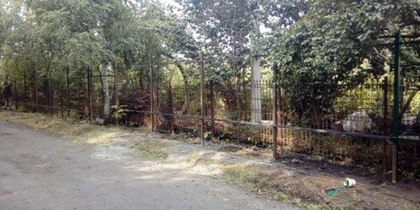 Забор из профнастила в селе Чертовицы - 7