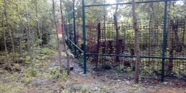 Забор из профнастила в селе Чертовицы - 5