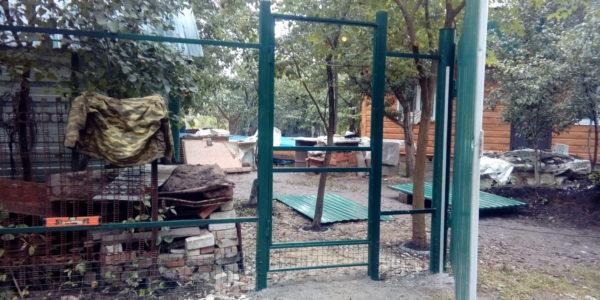 Забор из профнастила в селе Чертовицы - 8
