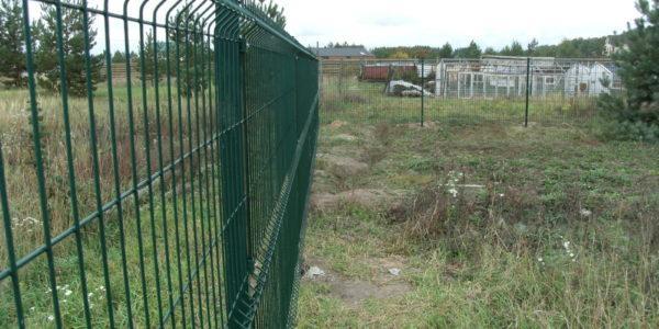 Ворота для забора из сетки рабицы - 2
