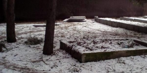 Забор с откатными воротами в Бабяково - 14