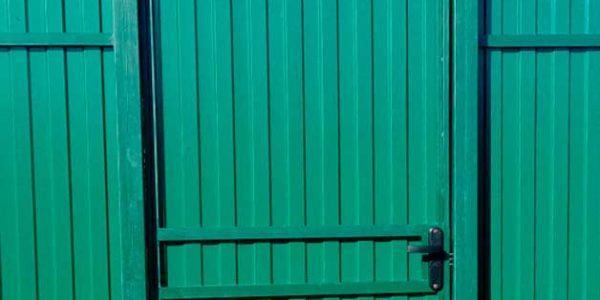 Забор из профнастила в селе Парусное - 20