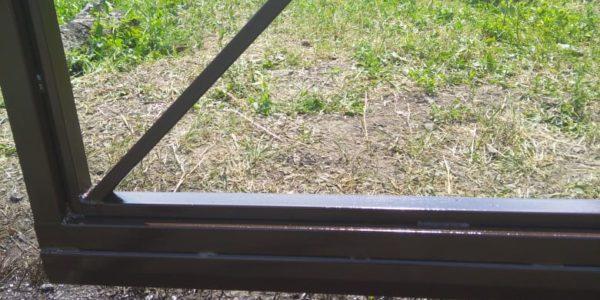 Забор с откатными воротами в Бабяково - 19