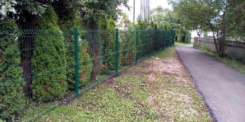 Забор из профнастила в селе Парусное - 14