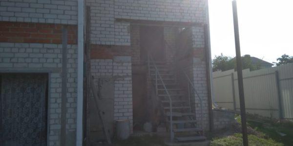 Навес над гаражом и входной группой - 2