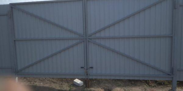 Ворота с внутренней стороны - 2