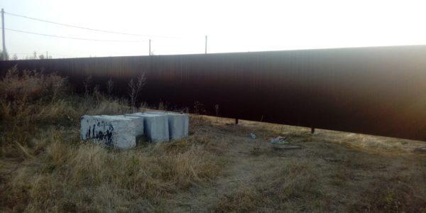 Забор на участке - 19