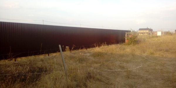 Забор на участке - 20