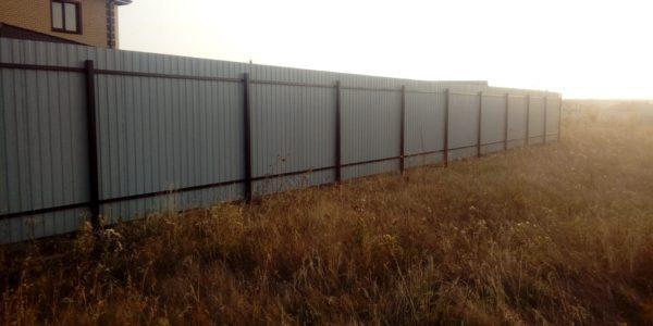 Забор из металлопрофиля - 14