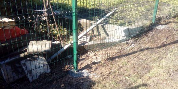 Забор из сварной сетки gitter