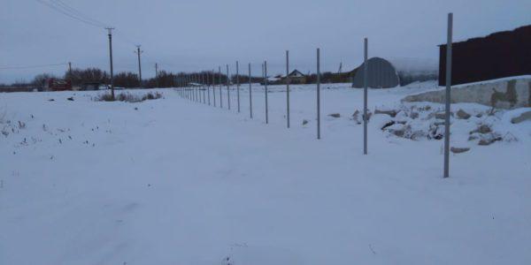 3д ограждение в зимний период - 10