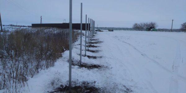 3д ограждение в зимний период - 5