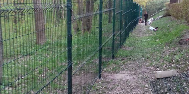 Ограждение в Воронеже 97,5 м. 3D