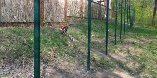 3D ограждение в Воронеже 97,5 метров