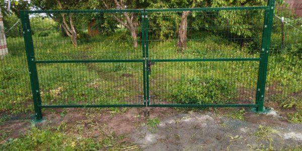 Ограждение в селе Сенное - 41 метр