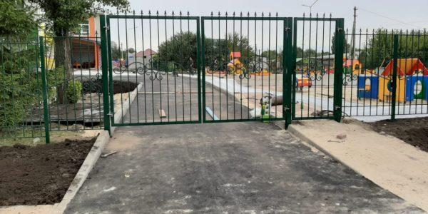 Забор для детских садиков в с.Хохол
