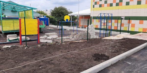 Ограждение детского сада в селе Хохол - 4